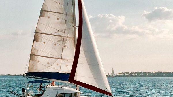 Lagoon 380 Under Sail