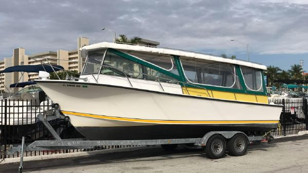 Custom 26 Water taxi type