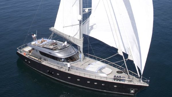Noble Yachts 32 Sylver K main profile