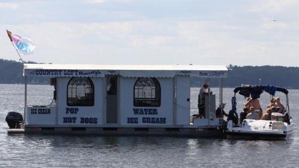 Food boat/truck