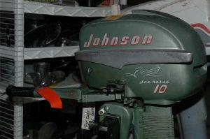 Johnson Qd-15 Sea-Horse Tiller