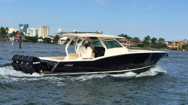 Scout 420 LXF Seven Seas Yacht Sales - Scout 420 LXF