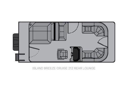 Landau Island Breeze 212 Cruise Rear Lounge image