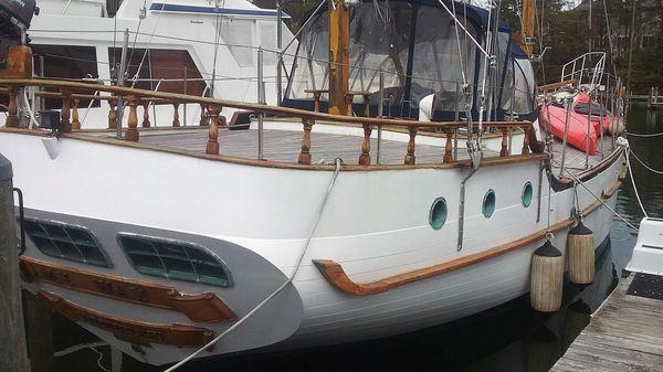 Island Trader Staysail Ketch 51 Island Trader 51