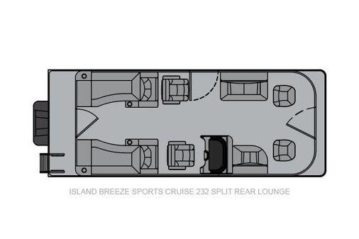 Landau Island Breeze 232 Cruise Split Rear Lounge image
