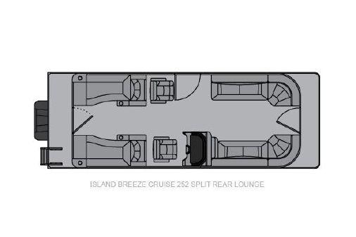 Landau Island Breeze 252 Cruise Split Rear Lounge image