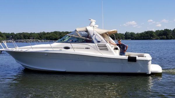 Sea Ray Amberjack Port Side Profile