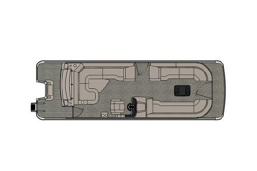 Avalon Catalina Platinum Rear J Lounger - 27' image