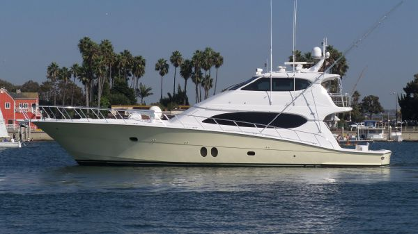 Hatteras 77 Convertible Port Profile
