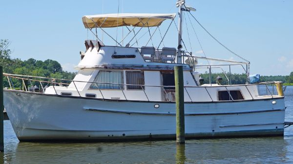 Monk Trawler Monk 36