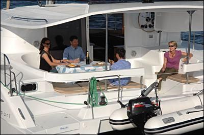 Fountaine Pajot Lipari 41 Manufacturer Provided Image: Fountaine Pajot Lipari 41 Cockpit
