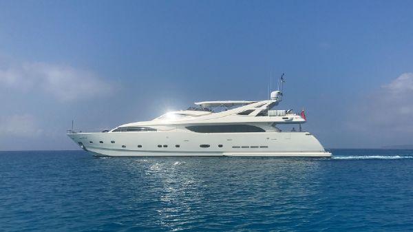 Ferretti Yachts 112 Profile