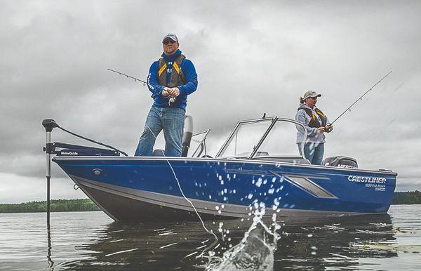 2019 Crestliner 1650 FISH HAWK SE SC