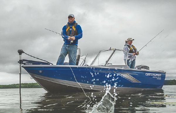 2019 Crestliner 1650 FISH HAWK SE WT