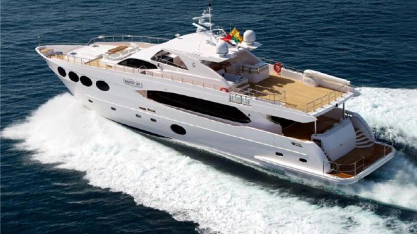 Gulf Craft Majesty Yacht 105