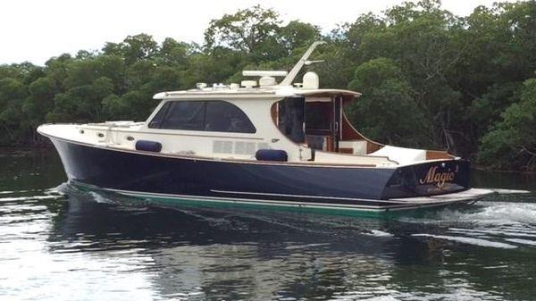 Hinckley Talaria 48 Port Profile