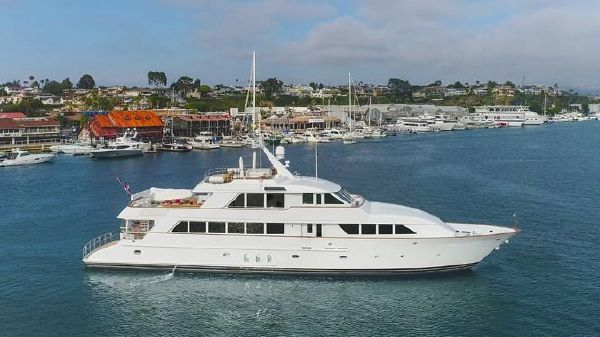Palmer Johnson Custom Tri-Deck Motoryacht