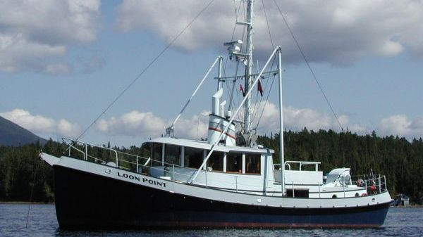 Hansen Boat Company, Marysville, WA Pilothouse Trawler Tug Photo 1