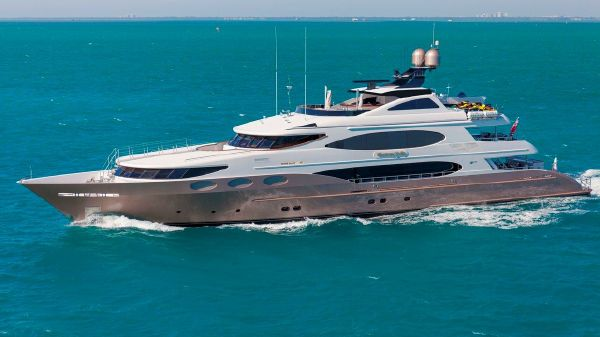 Trinity Yachts Tri-Deck Motor Yacht