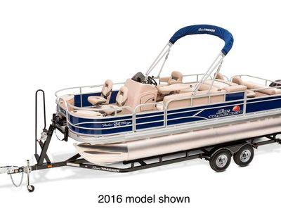 2017 Sun Tracker<span>Fishin' Barge 22 DLX</span>