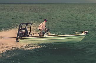 Yellowfin 17 Skiff