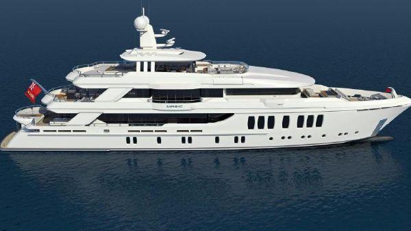 CMB Yachts 3 Deck Composite