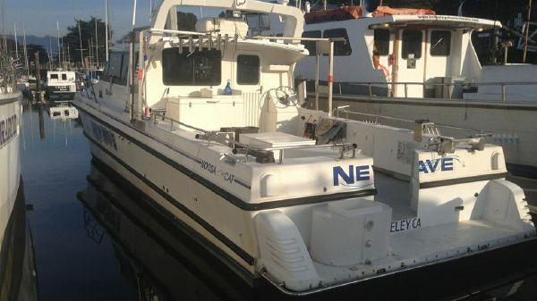 Noosa Catamaran Cockpit