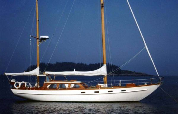 "1964 Alden ""Lady Helene"" Custom Ketch"