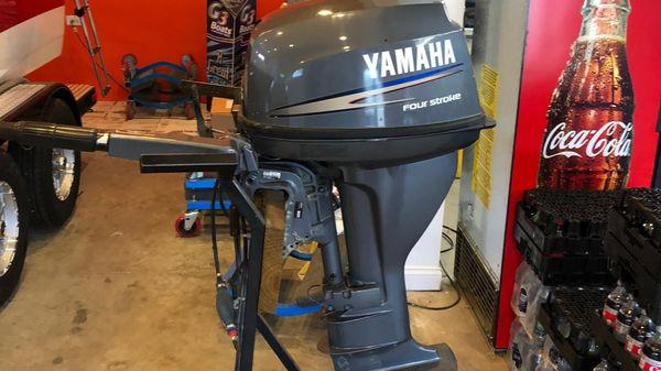 Yamaha Outboards F15ELHA