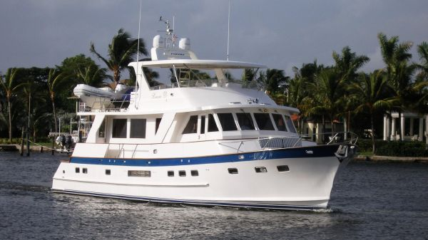 Grand Alaskan 65' Flush Deck Motor Yacht The Ex.