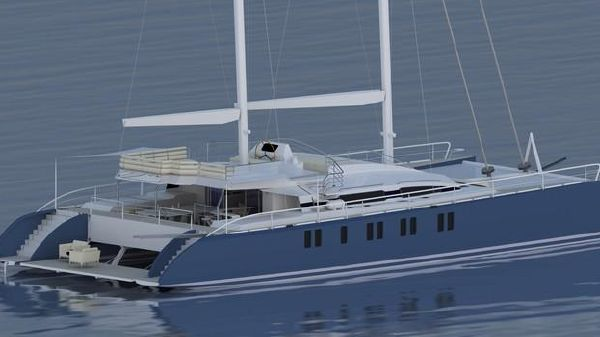 Windward Islands Custom Sailing Catamaran 82