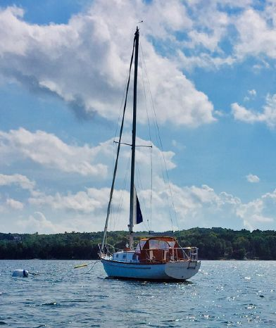 1975 Cape Dory 28 Sister Bay, Wisconsin - Yacht Works