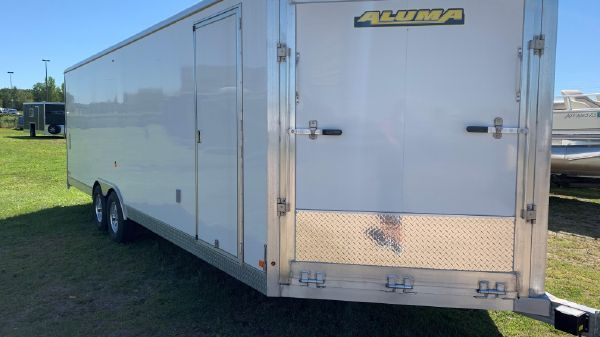 Trailer AER824 ENCL ALUMA CAR TRAILER