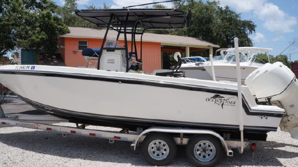 Ocean Runner 24 Center Console with twin O/B