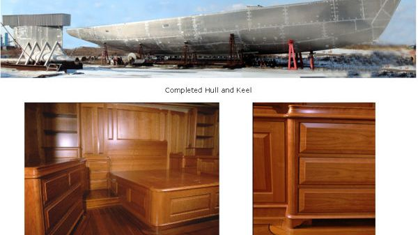 Derecktor  Completed Hull & Joinery