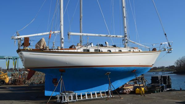 Shannon Ketch Out Of The Water For The Winter