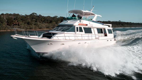 Viking Cockpit Motor Yacht