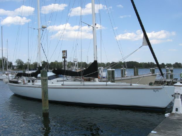 1994 Custom Ketch Dashew Style Custom 55