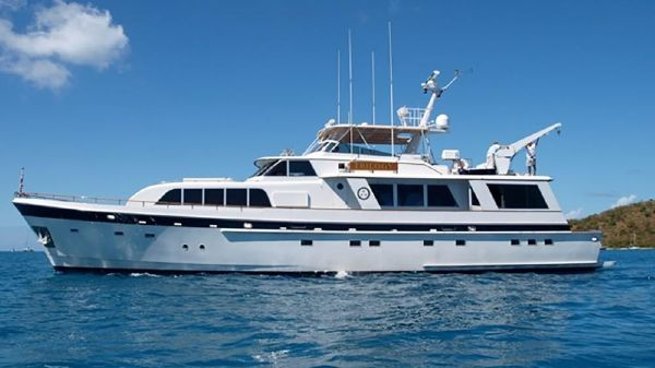 Cheoy Lee Raised Pilothouse Motor Yacht
