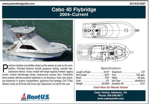 Cabo 40 Flybridge image