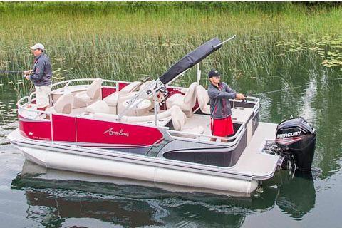 2017 Avalon LSZ Quad Fish - 20'