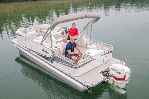 2017 Avalon LSZ Quad Fish - 22'