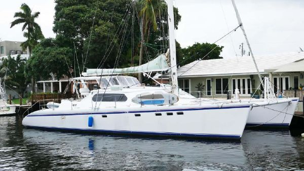Custom Alex Simonis Catamaran