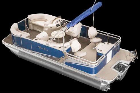 2017 Avalon LS Quad Fish - 22'