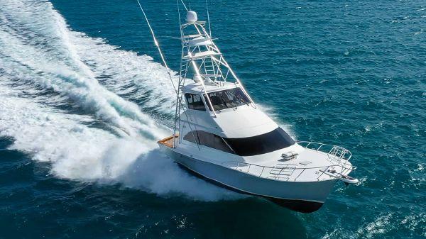 Ocean Yachts 57 Enclosed Bridge