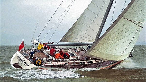 Tayana 65 1990 Tayana 65 (formerly Waterwitch) in the Bermuda Race.jpg