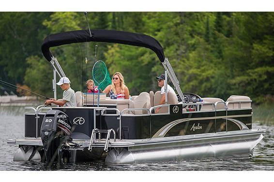 2017 Avalon GS Quad Fish - 23'