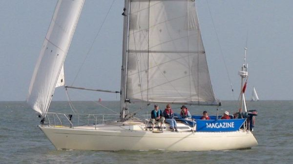 Sigma 36 Sailing