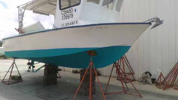Delta Wheel House 25 Crab Lobster boat