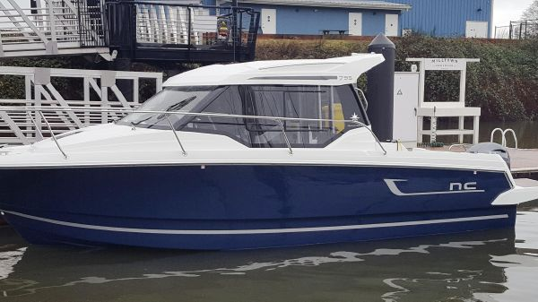 Jeanneau NC 795 On our docks at Milltown Marina!